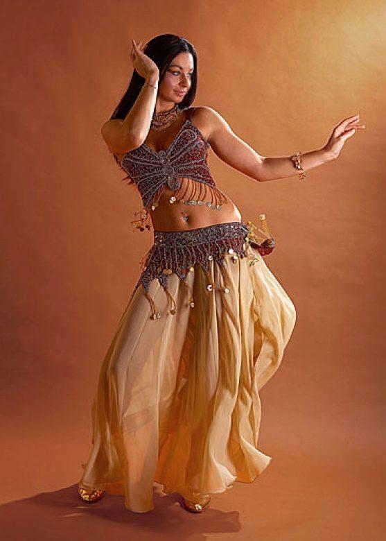Танцы с длинными юбками видео
