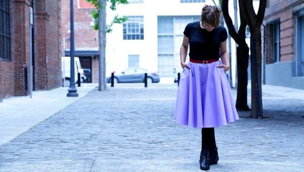 yubki-s-karmanami Женские юбки Трапеции с карманами – купить в интернет-магазине