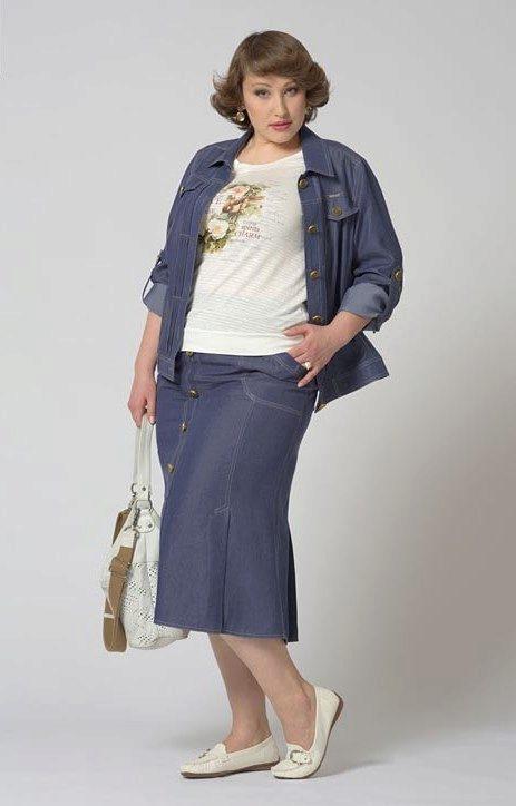 Интернет магазин джинсовых юбок для полных женщин