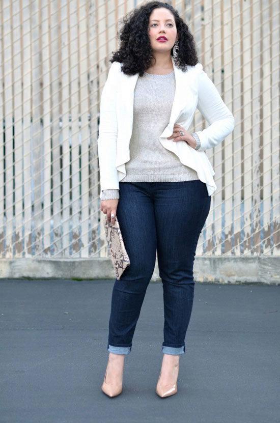 зрелая женщина в джинсовой юбке фото