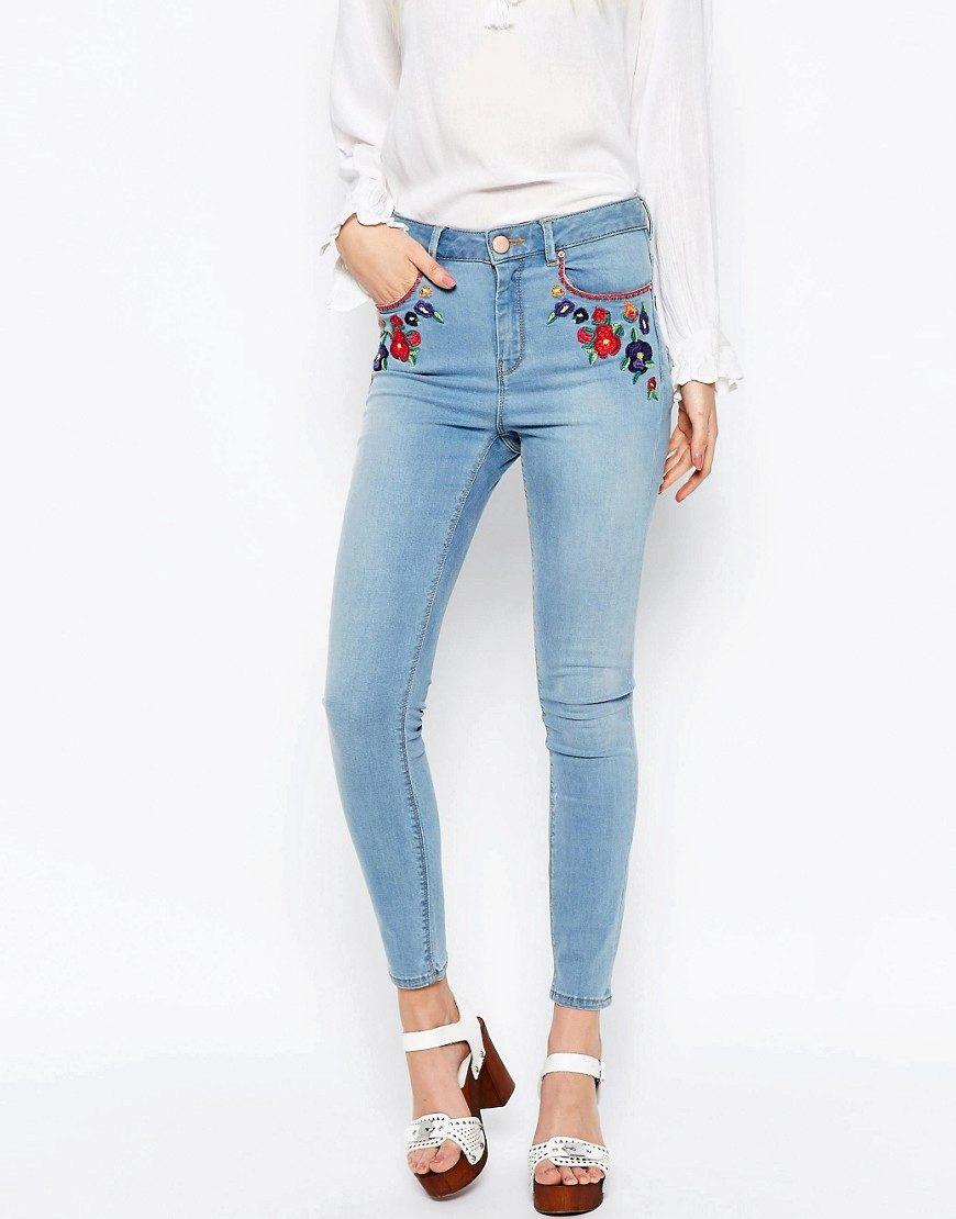 Вышивка на джинсах скачать