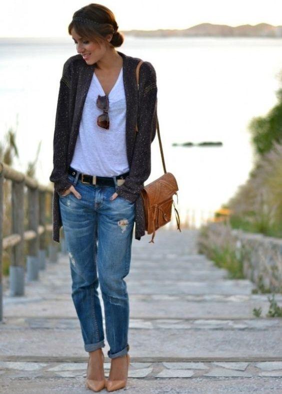 Как сделать подвороты на джинсах девушке если они широкие 405