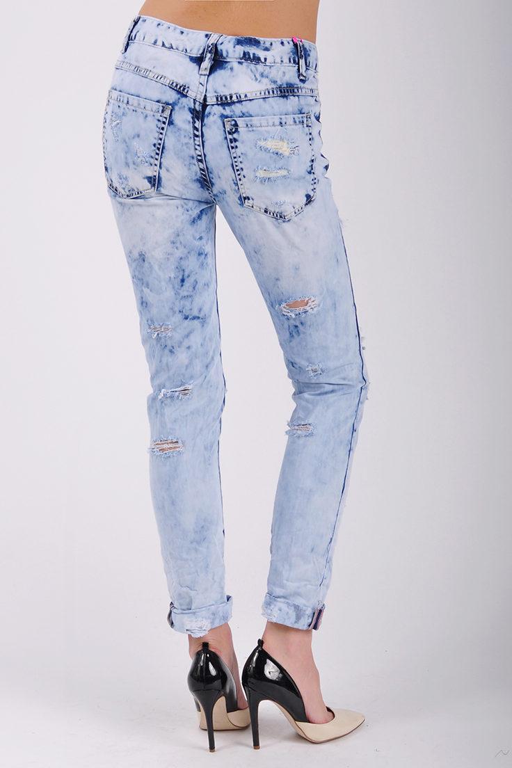 Как отбелить белые джинсы в домашних условиях
