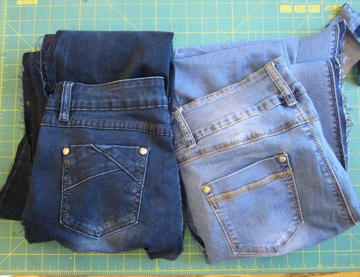 Сшить сумку мастер класс из джинсов