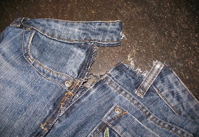Как ушить джинсы в домашних условиях