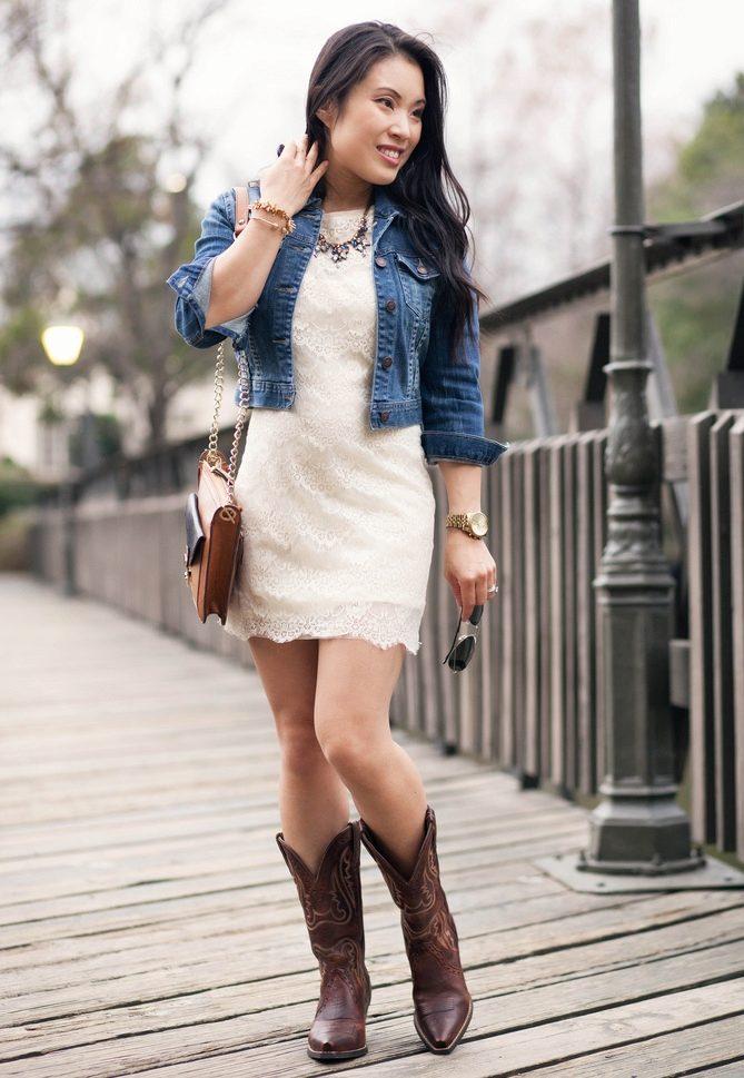Фото комплектов туфли с голубым платьем