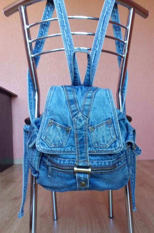 Сшить рюкзак из старых джинсов с выкройкой фото 952