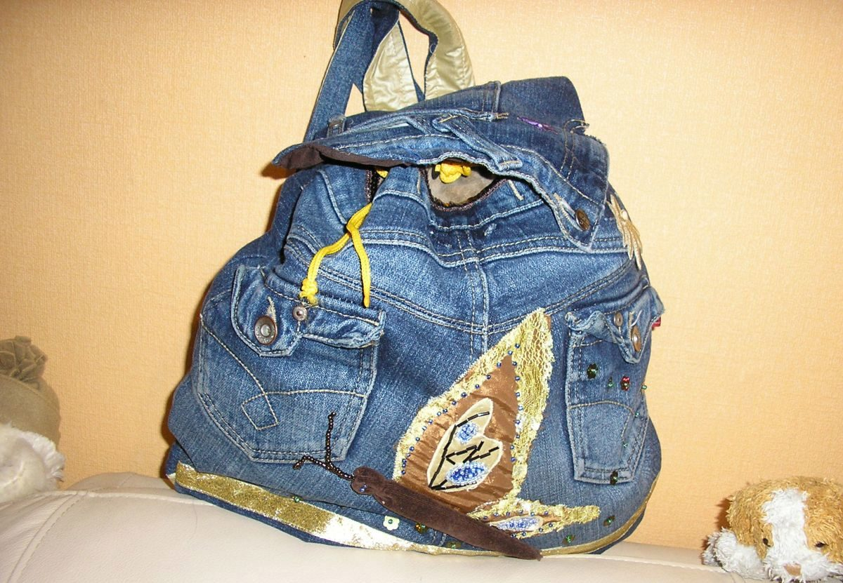 Как переделать сумку в рюкзак своими руками 81