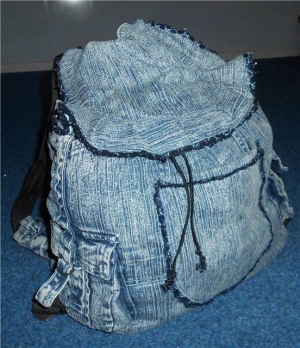 Пошив джинсов своими руками