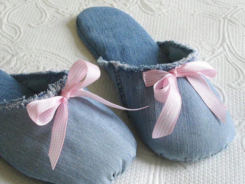 Сшить мешок для обуви из старых джинсов фото 644