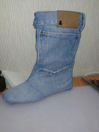 Юбки переделанные из старых джинсов