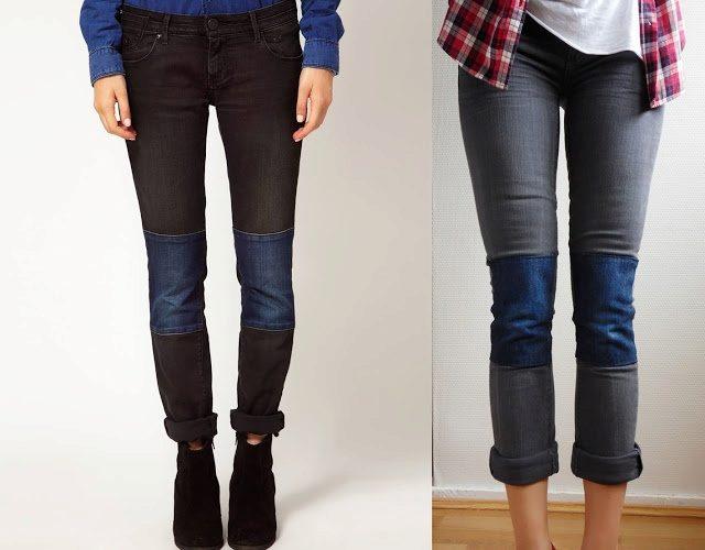 Заплатки на джинсы как сделать? Шей со мной