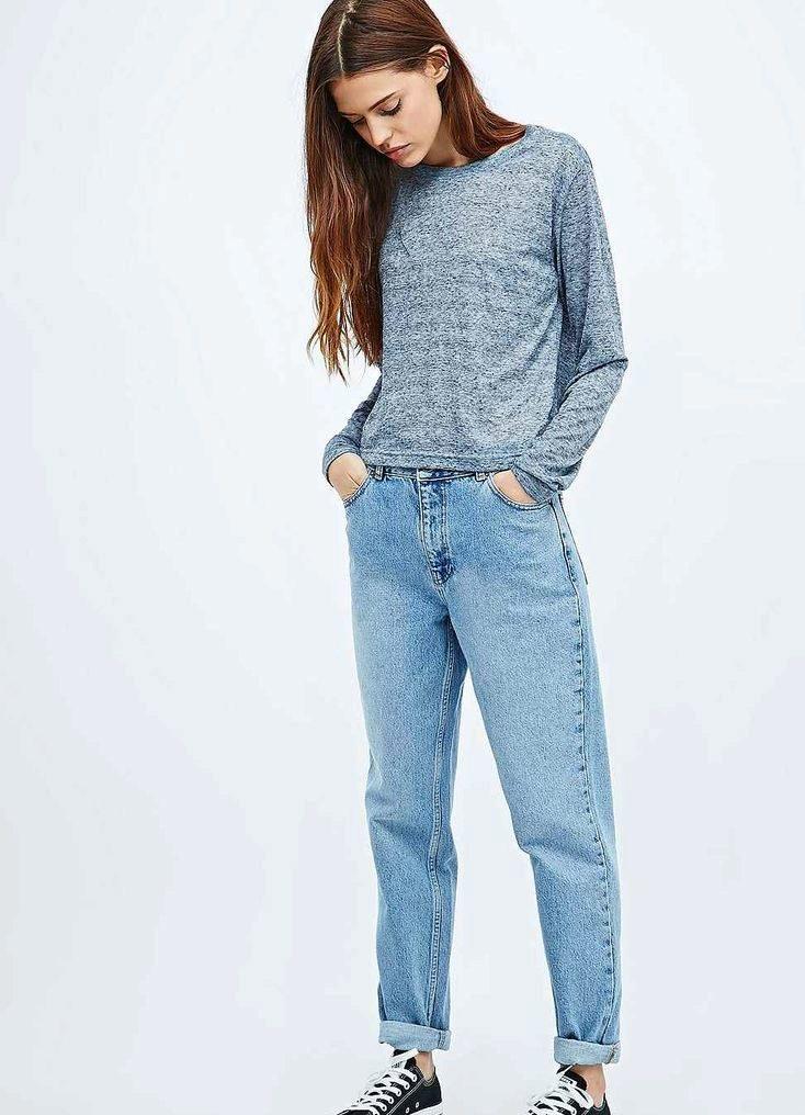 f7dd8e07750 Женские джинсы-американки (36 фото)  с чем носить