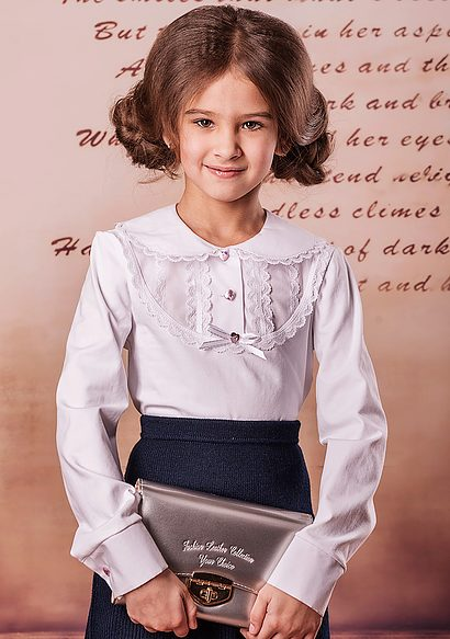 f961a15f5f1 Блузки для девочек (61 фото)  детские нарядные и молодежные модели ...