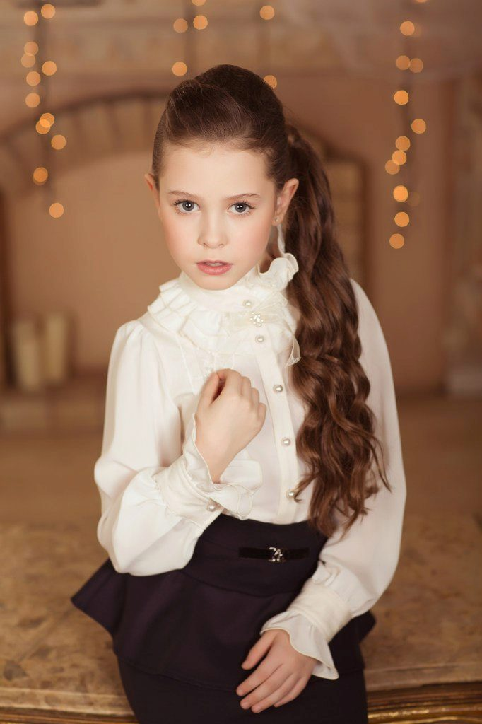 Молодежные блузки для девушек