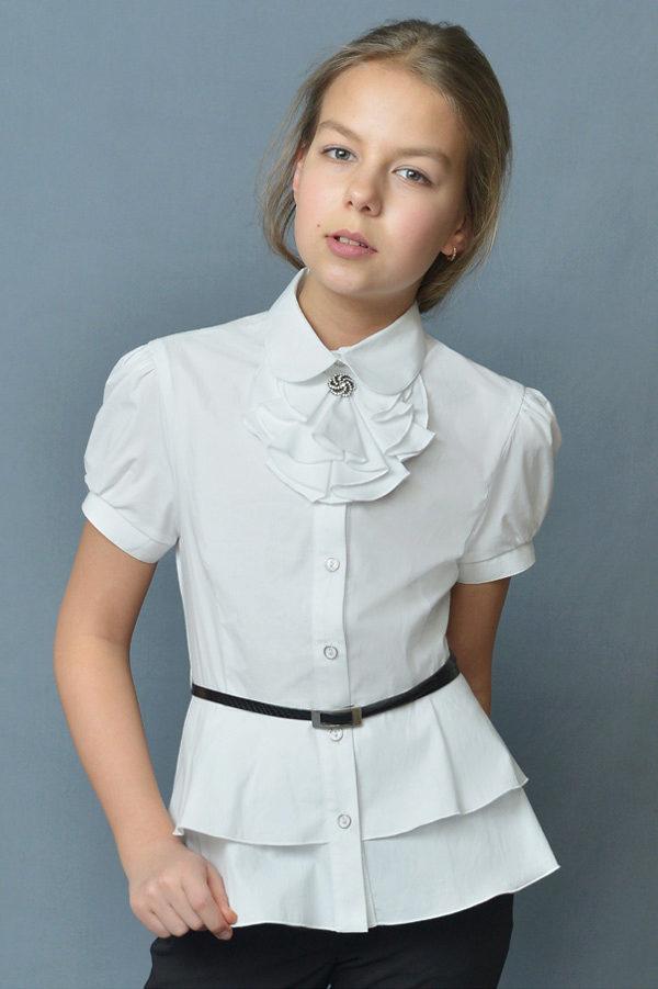 блузки детские для школы фото
