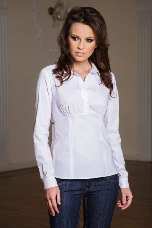 110bd6f021c Блузки из хлопка (32 фото)  женские хлопковые блузы