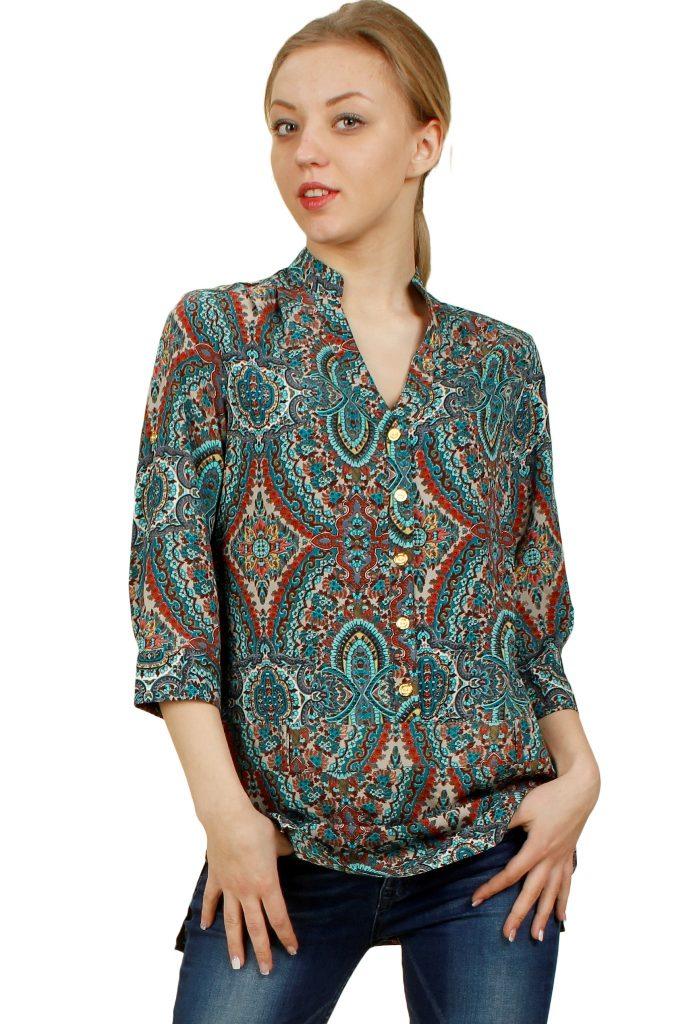 8dc49d8b027 Многообразие орнаментов и рисунков штапеля не знает границ. Такой материал  чаще всего используется для пошива блузок в романтическом стиле.