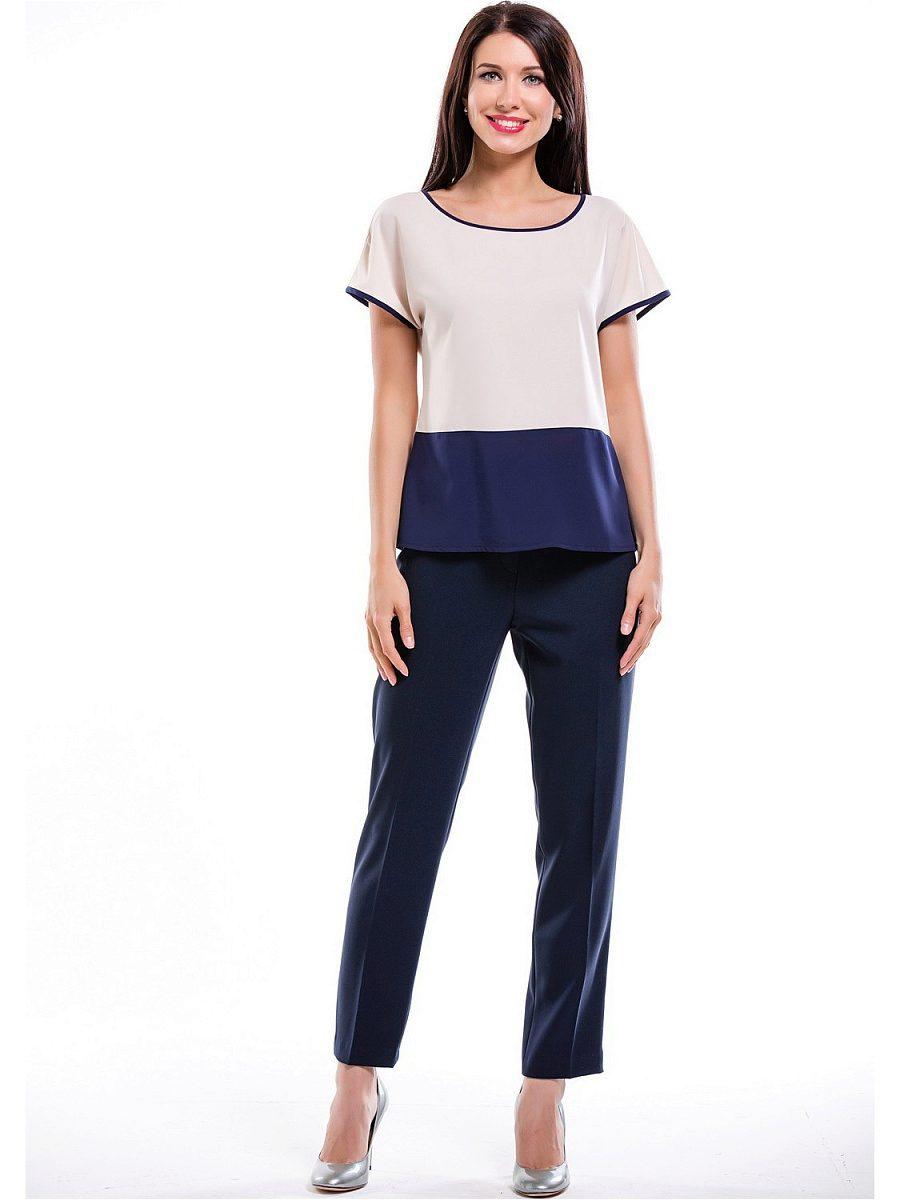 Блузка с коротким рукавом без выкройки фото 449