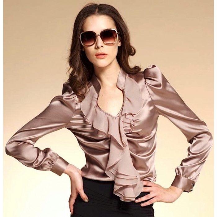 Блузка Прямая В Самаре