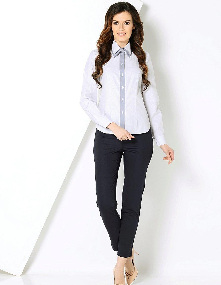 Женские блузки офисные