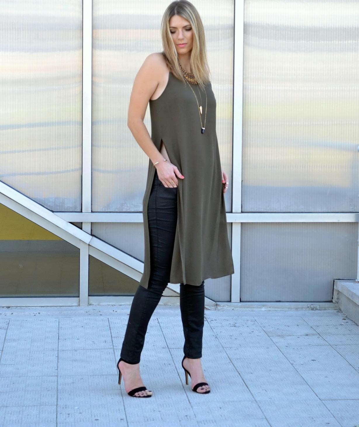 0f36b46209a Длинная женская футболка с разрезами по бокам (74 фото)  футболка-платье