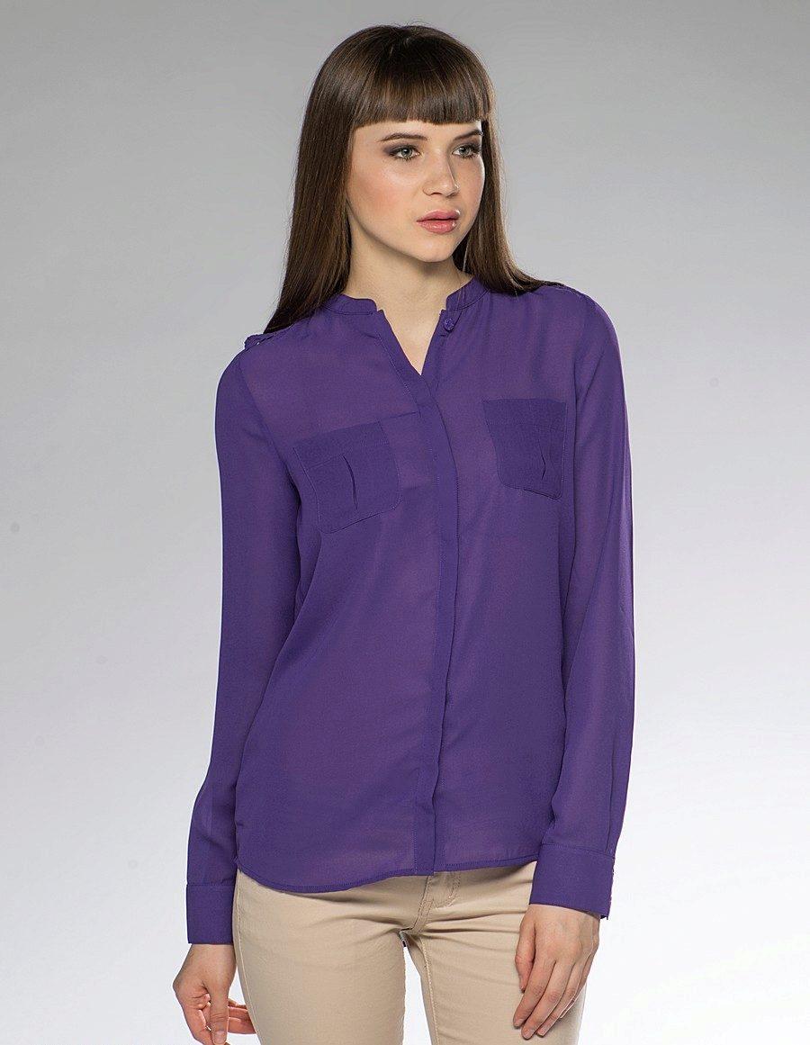 c0787323e73 Фиолетовые рубашки (37 фото)  с чем носить