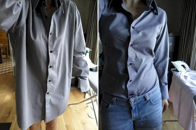 769f0935da8 Большинство моделей мужских рубашек имеет прямой или слегка приталенный  силуэт