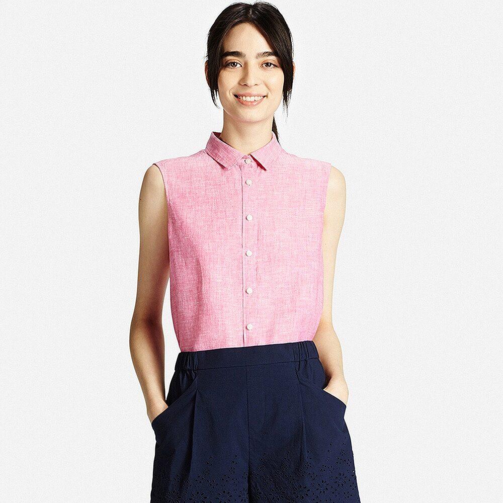 2f522654be6 Рубашки без рукавов с воротником-стойкой и яркой контрастной окантовкой  выглядит непревзойдённо. Такая вещь станет ярким акцентом стильного лука.