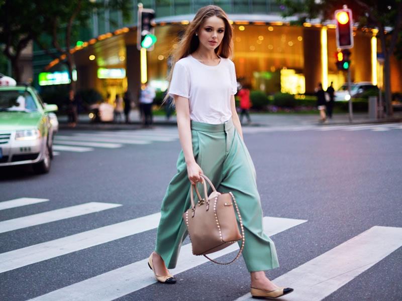 С чем носить брюки-кюлоты девушке Фото. Летом, осенью, зимой, весной. Популярные фасоны