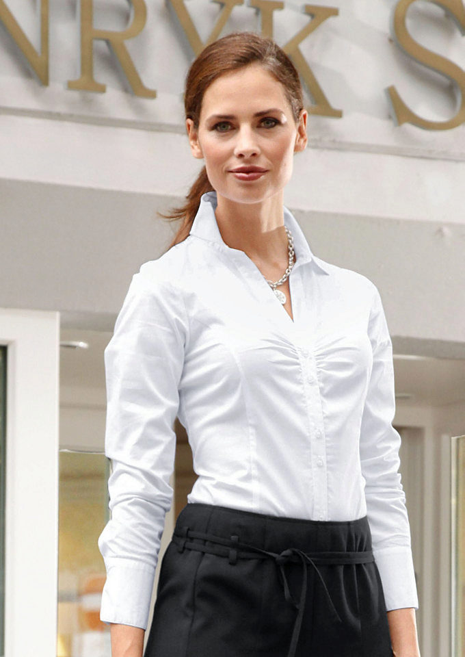 Модели белых блузок доставка