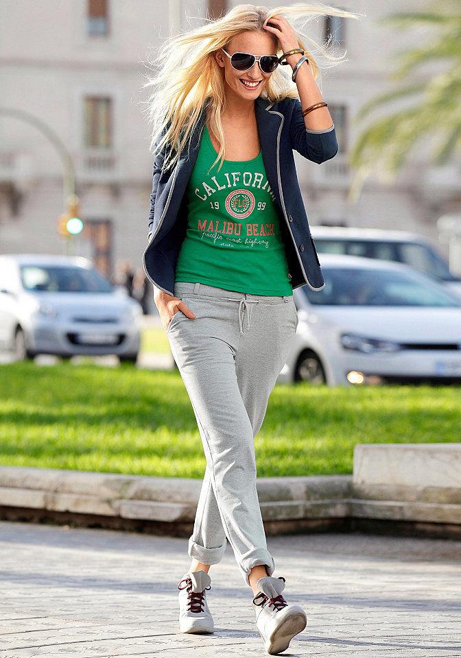 Серые женские спортивные штаны с чем носить женские