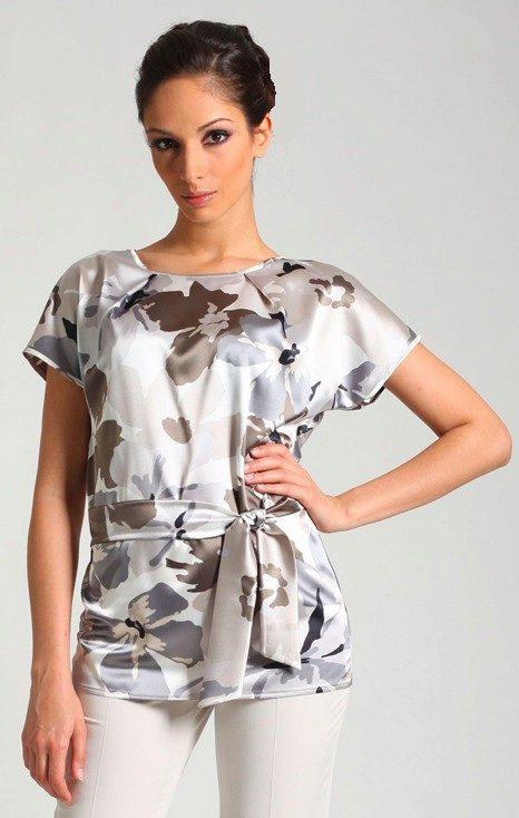 1120cfa8125 Давайте поэтапно рассмотрим пошив практичных и симпатичных моделей блуз с  цельнокроеным рукавом.