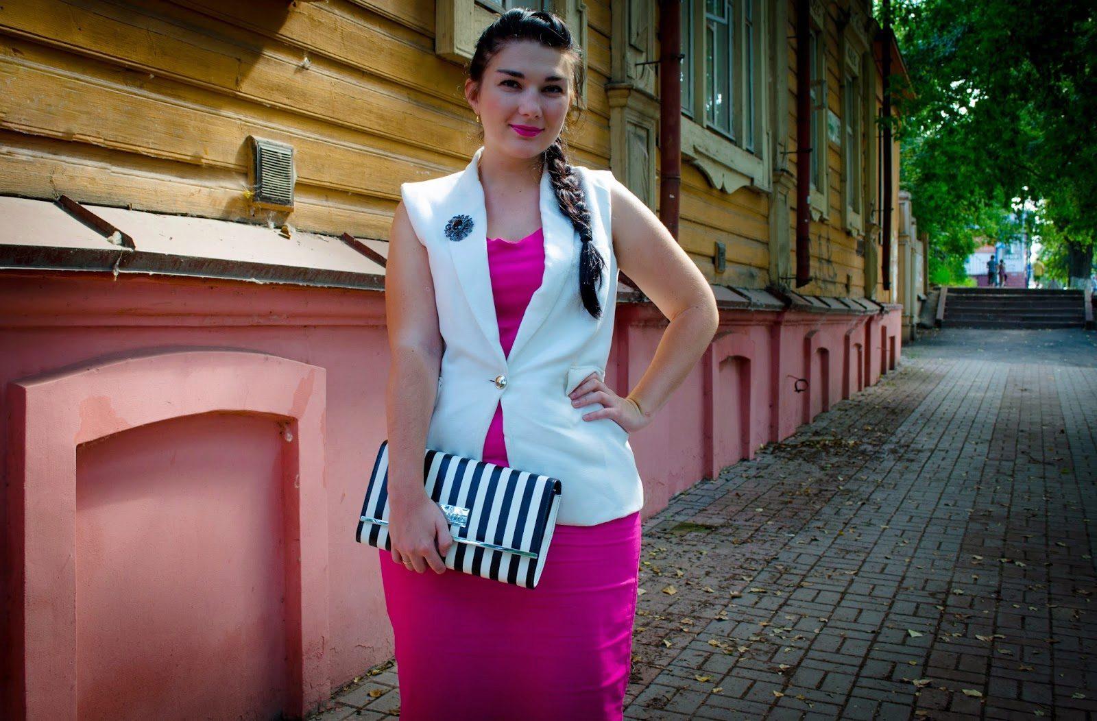 Удлин нный женский жакет с платьем