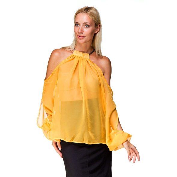 Блузки с красивыми рукавами