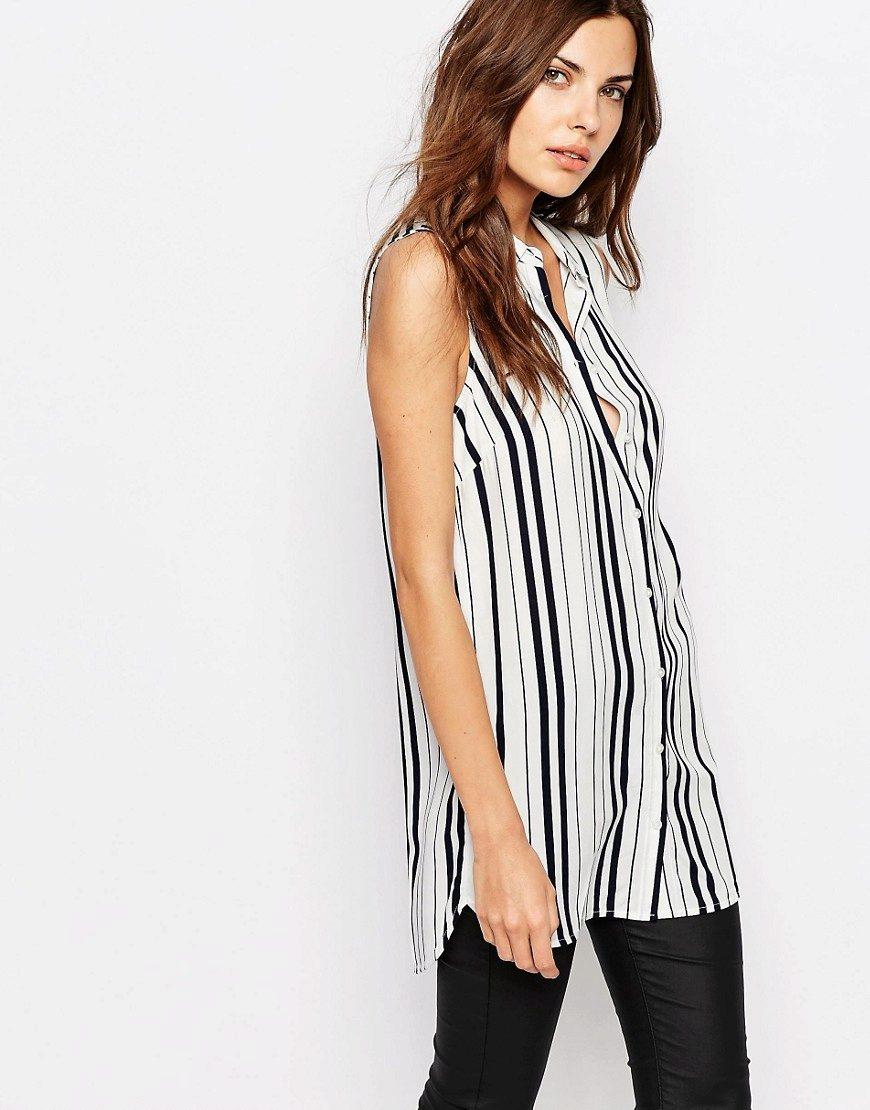 Рубашка без рукавов женская сшить фото 472
