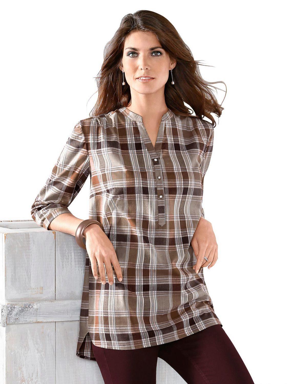 Как сшить женскую рубашку-тунику 39