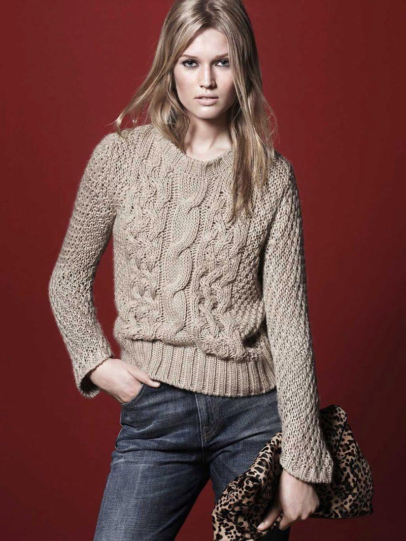 Вязание свитеров для женщин 2015
