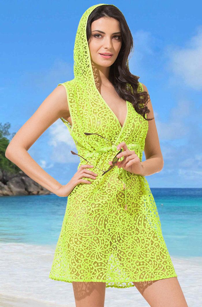Платье туника для пляжа