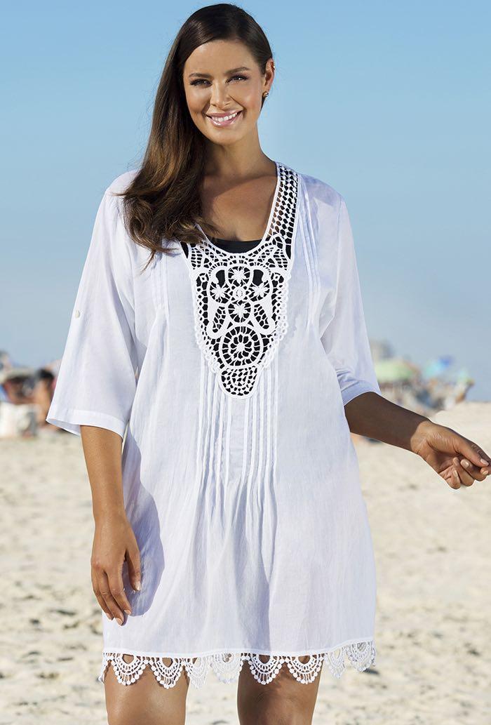 f3a4f8cef1a Сегодня мы расскажем вам об особенностях летних туник для полных девушек и  женщин  о том