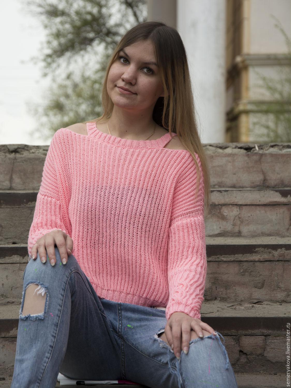 розовый свитер 62 фото с чем носить нежно розовый свитер