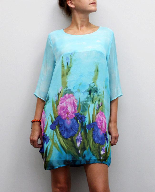 туники с цветочным принтом