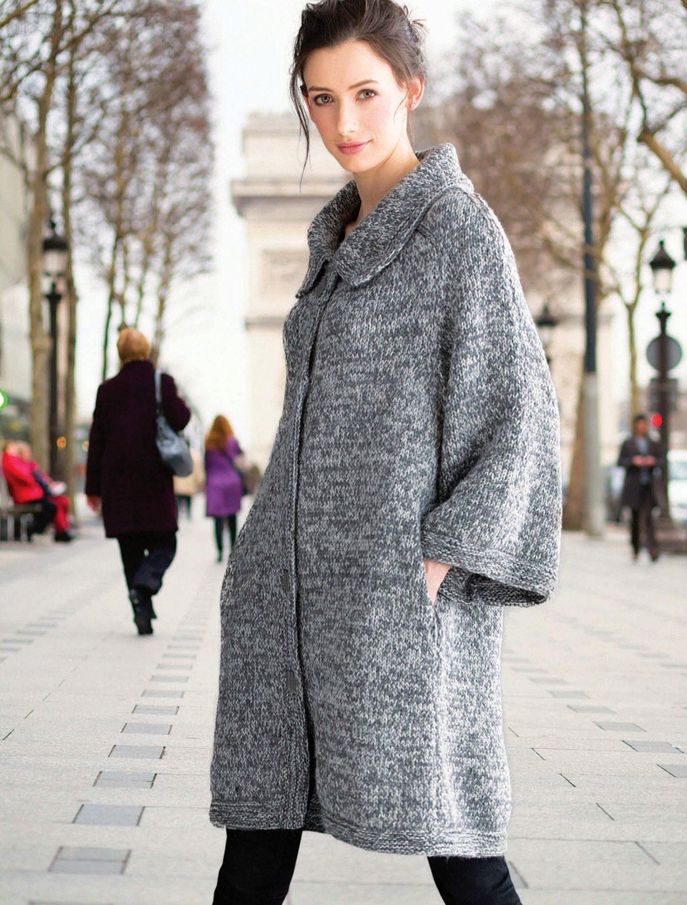 Вязание пальто 2015