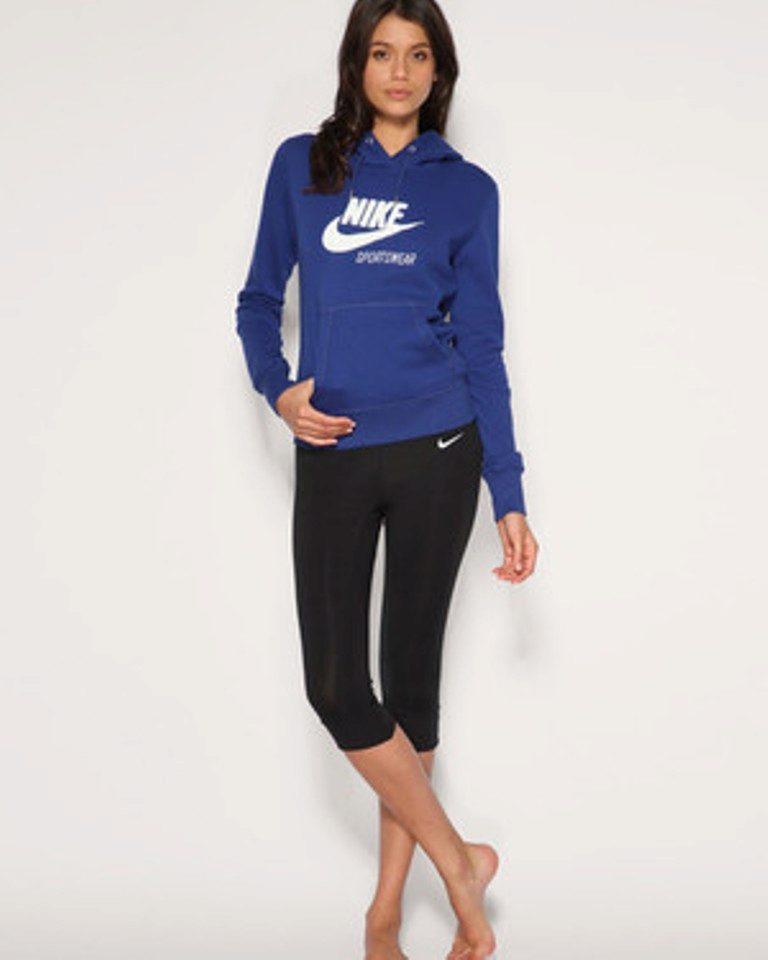 1d14dc690b40 Женские толстовки Найк (Nike) (58 фото): модели Sportswear, Nike Air ...