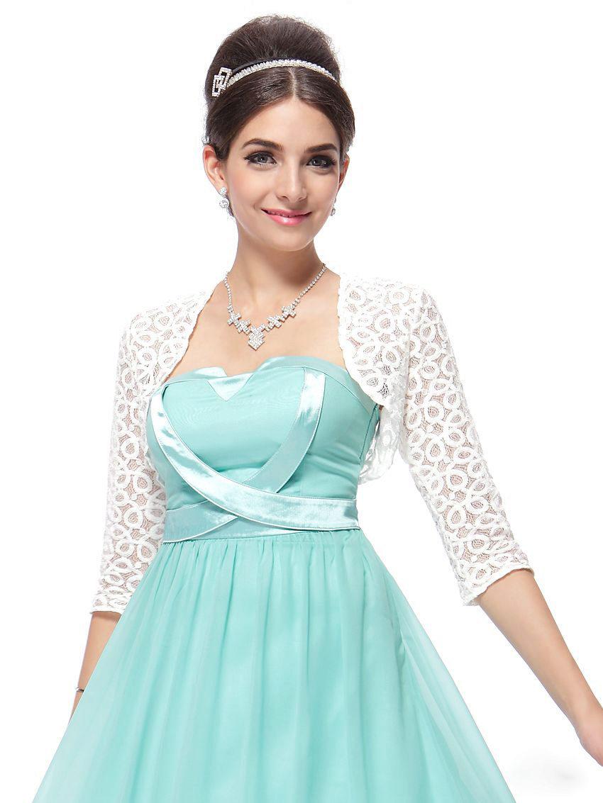 Болеро вечернее платье