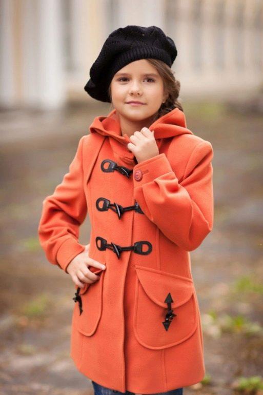 Осенние пальто для девочки своими руками 486
