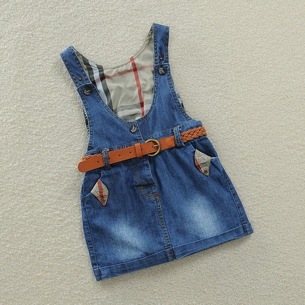Сарафан для девочек из джинс