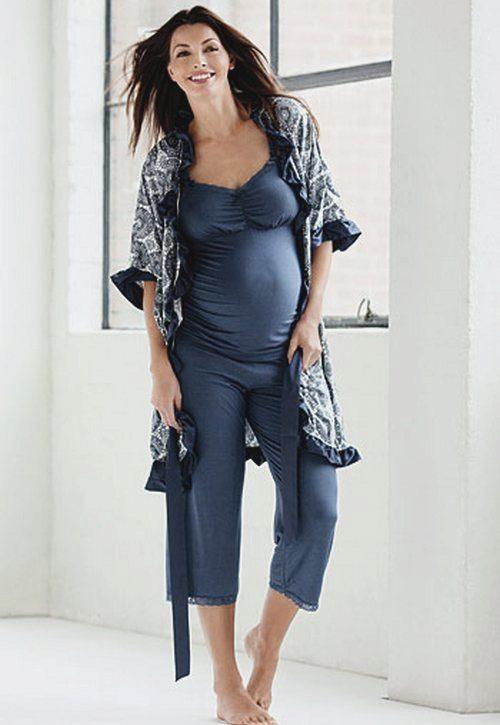 Халаты для беременных 55 фото  женские халаты и сорочки для ... f1056a3a82cc0