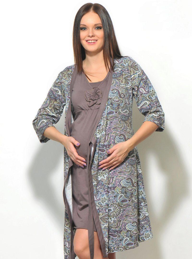 Халаты для беременных своими руками 10