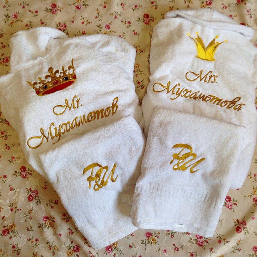 Подарки с вышивкой именные